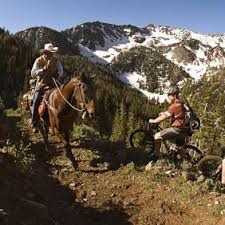 With courtesy, responsibility,and common sense we can share trails safely