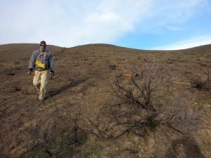 BLM's John Kurtz working up plans for Croy trails rebuild